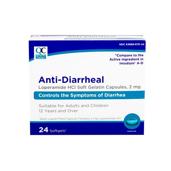 QC LOPERAMIDE ANTI DIARRHEA SOFTGELS - Jollys Pharmacy ...