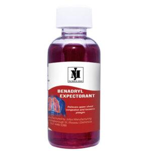 benadryl expectorant